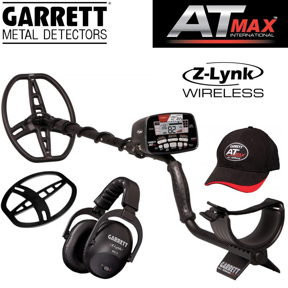 Garrett AT MAX + protège disque + casque sans fil