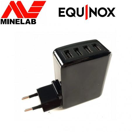 Chargeur secteur 4 ports pour Equinox