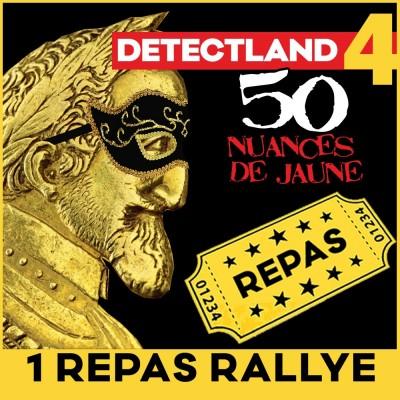 Billet Rallye DETECTLAND (adulte)