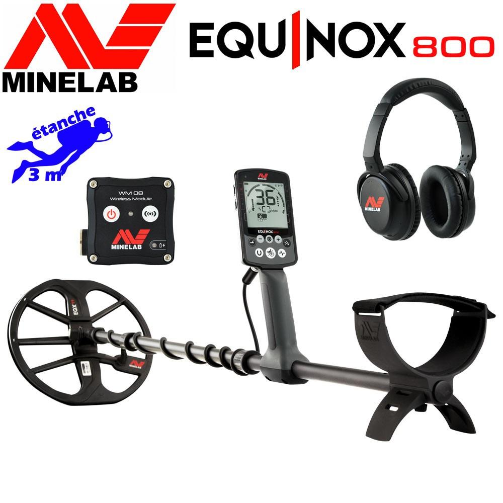 détecteur minelab equinox 800 en promotion
