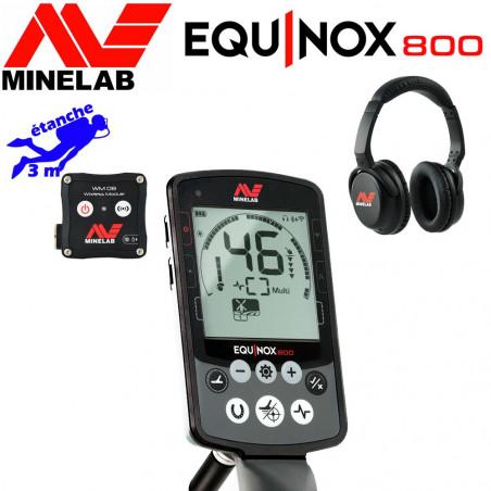Minelab Equinox 800 (en stock !)