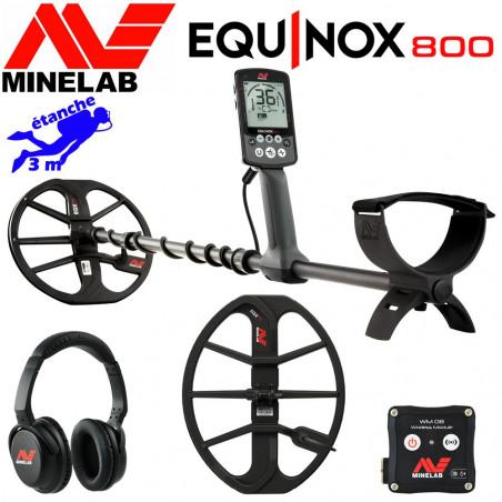 Minelab Equinox 800 + disque 38cm