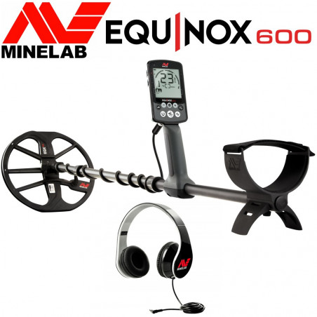 Détecteur de métaux MINELAB EQUINOX 600 en promotion