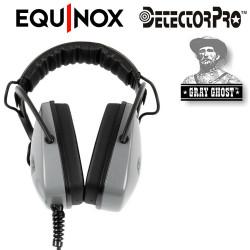 Casque GRAYGHOST étanche détecteur EQUINOX