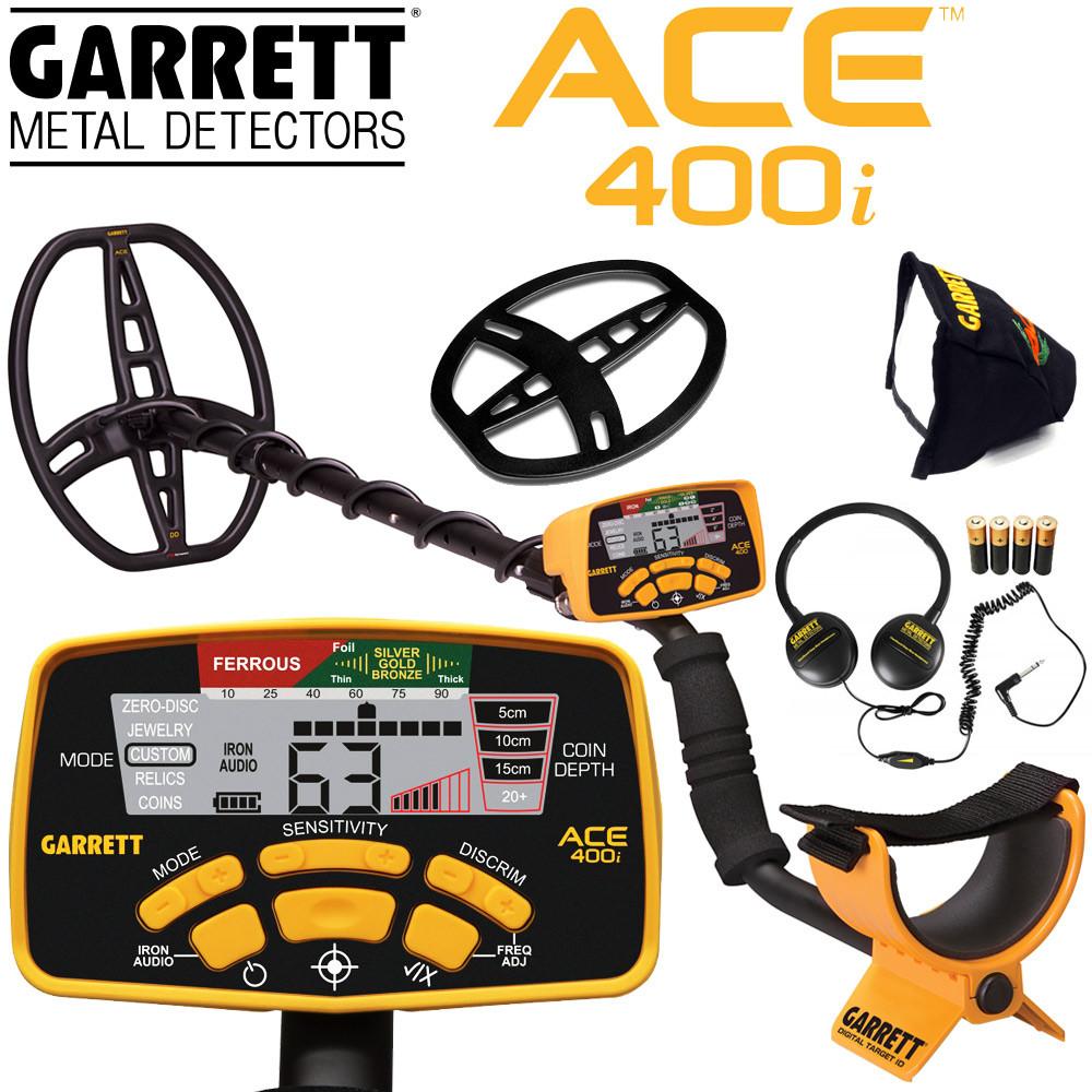 Garrett ACE 400i
