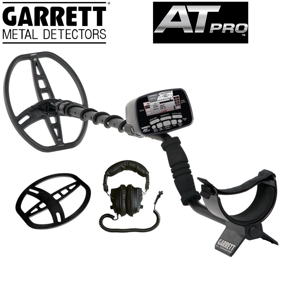 Garrett AT PRO + protège disque + casque