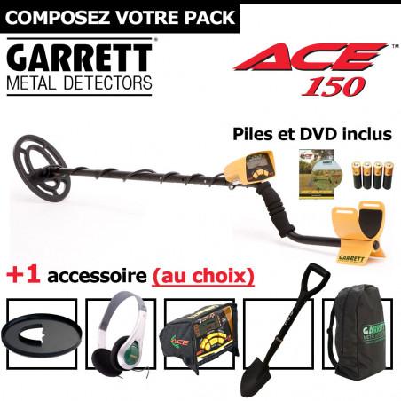 Garrett ACE 150 + 1 accessoire au choix