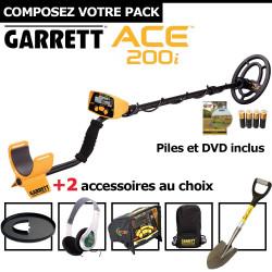 Garrett ACE 200i + 2 accessoires au choix