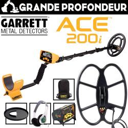 Garrett ACE 200i Pack Grande Profondeur
