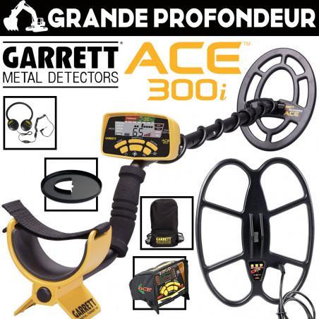 Garrett ACE 300i Pack Grande Profondeur