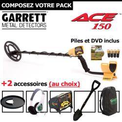 Garrett ACE 150 + 2 accessoires au choix