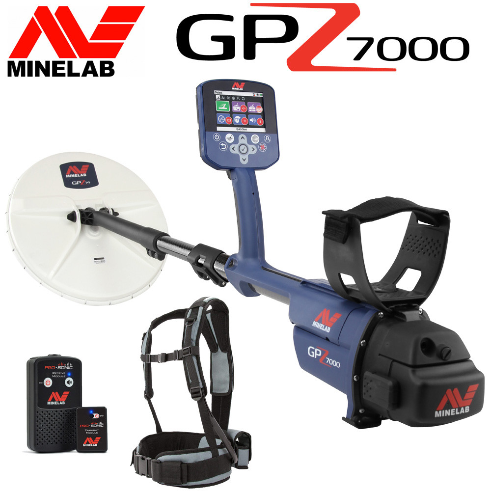minelab gpz 7000 en promotion