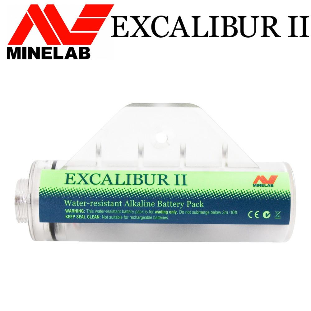 Batterie + compartiment étanche pour Minelab Excalibur