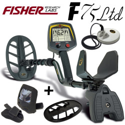 Fisher F75 SE UPG + disque 12cm