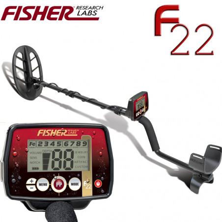 Fisher F22 +disque 27cm DD + p-disque