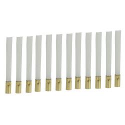 12 recharges fibre de verre pour stylo nettoyeur
