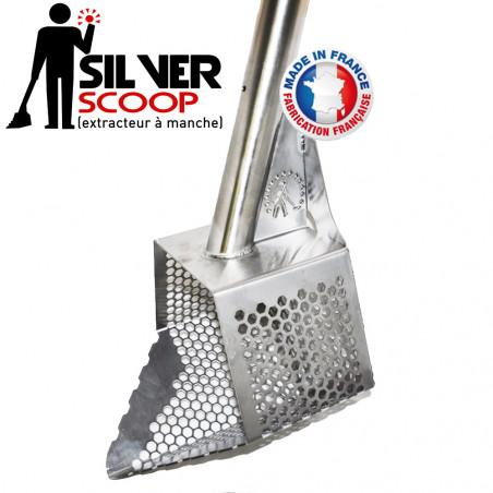 Gamate/Extracteur à manche Silver Scoop