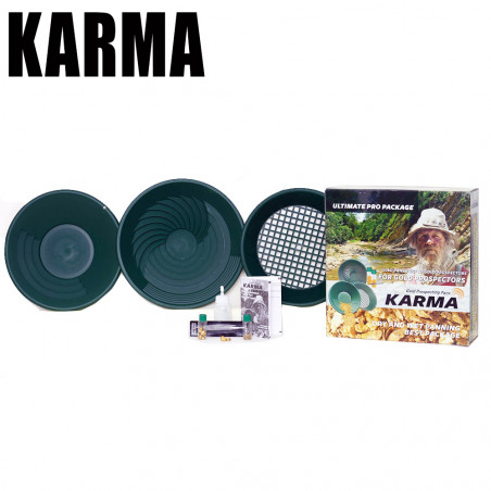 Kit d'orpaillage KARMA Hurricane Pan