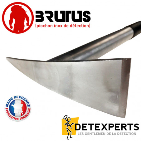 Piochon en Inox BRUTUS pour détecteur de métaux