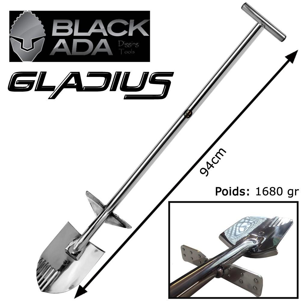 PELLE BLACK ADA GLADIUS inoxydable