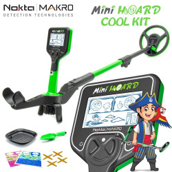 Détecteur de metaux pour enfant MINI HOARD Cool KIT de NOKTA MAKRO