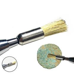 Brosse laiton pour Crayon nettoyeur