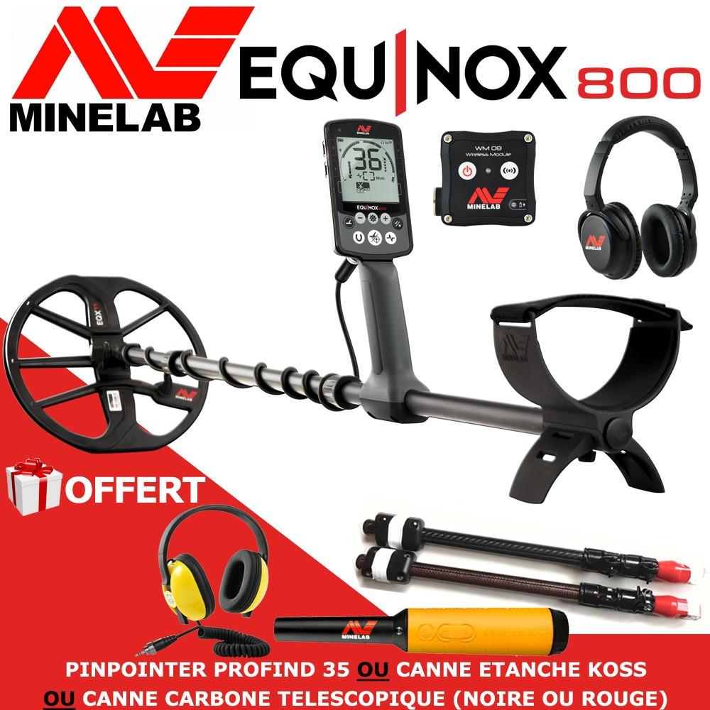 detecteur minelab equinox le moins cher en france