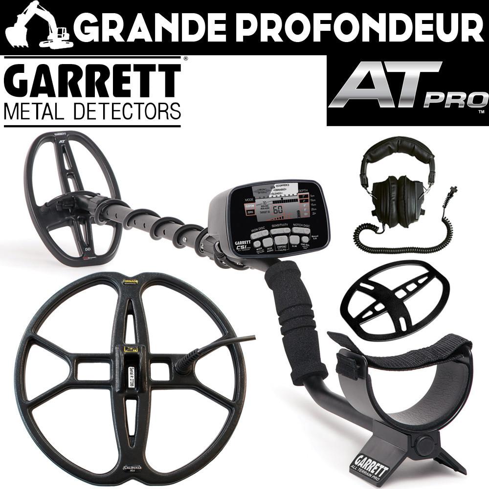 Garrett AT PRO Pack Grande profondeur