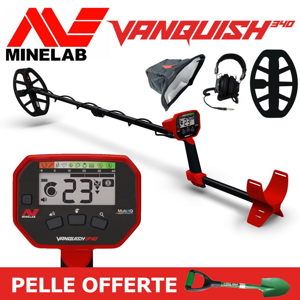 promotion détecteur minelab vanquish 340