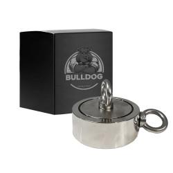 Aimant Néodyme DOUBLE Face 1100kg type Bulldog