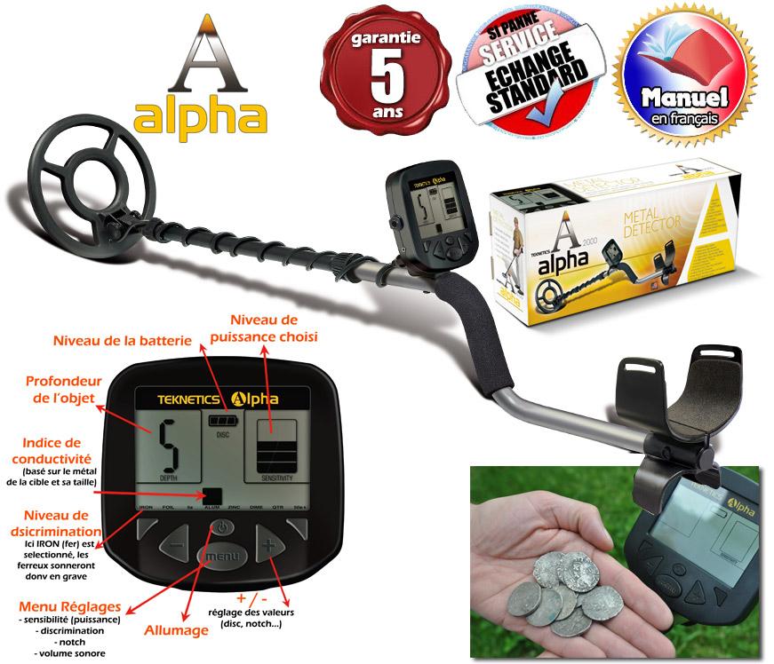 detecteur alpha 2000