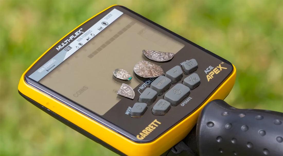 Test du détecteur Garrett ACE APEX sur le terrain