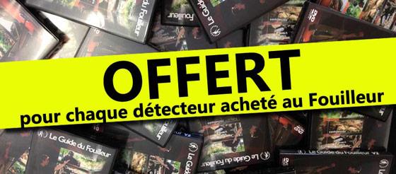 DVD de formation détecteur de metaux