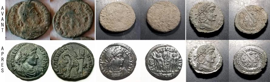 comment nettoyer une monnaie en bronze