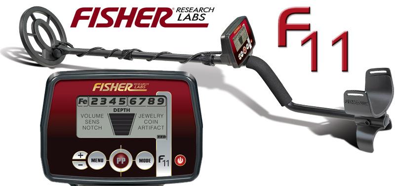 Promotion détecteur de métaux Fisher F11