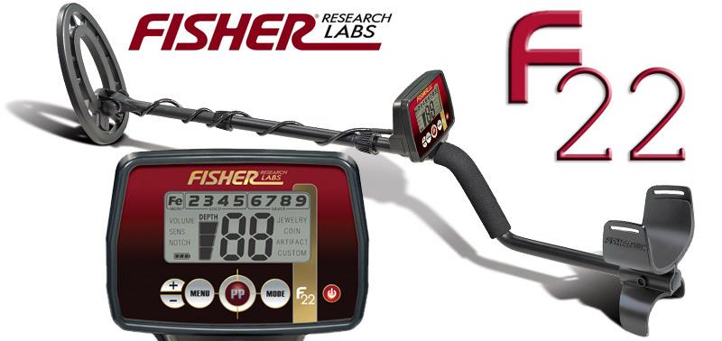 Promotion détecteur de métaux Fisher F22