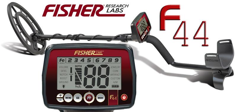 Promotion détecteur de métaux Fisher F44