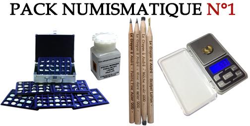 Pack Numismatique 1 pour la restauration des trouvailles