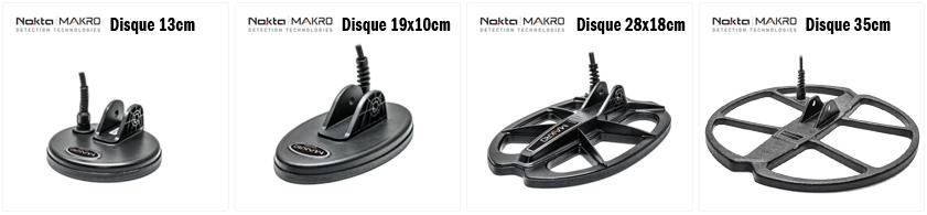 Disques pour détecteurs Nokta-Makro ANFIBIO et MULTIKRUZER
