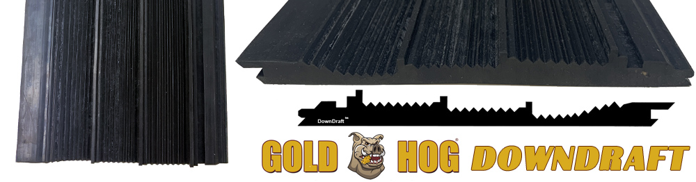 Tapis d'orpaillage Goldhog DOWNDRAFT