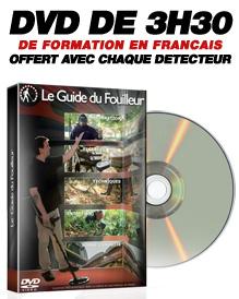 DVD de formation à la détection de métaux