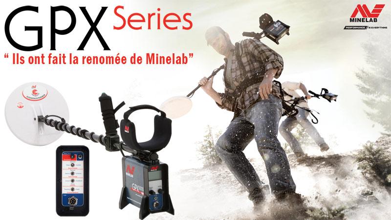 Export de détecteur de métaux Minelab GPX 5000 en promotion