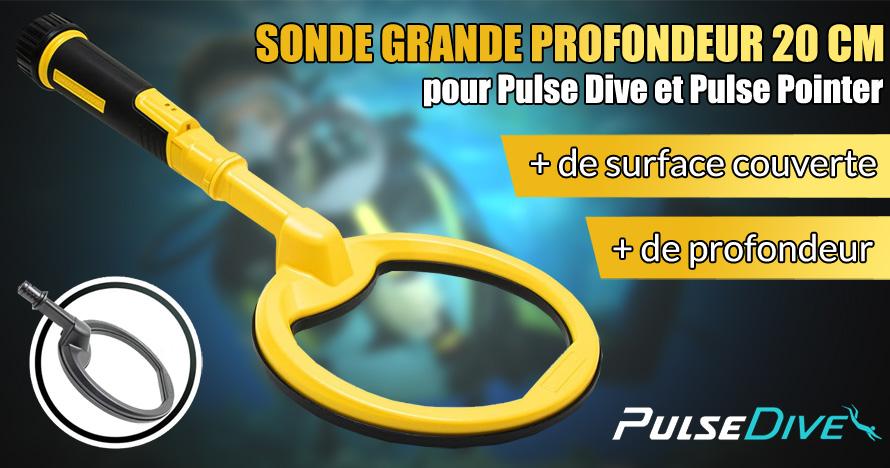 sonde grande profondeur 20cm pour pulse dive