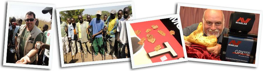 Détecteurs de métaux pour l'or