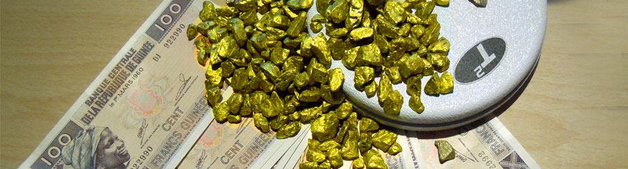 détecteur d'or afrique