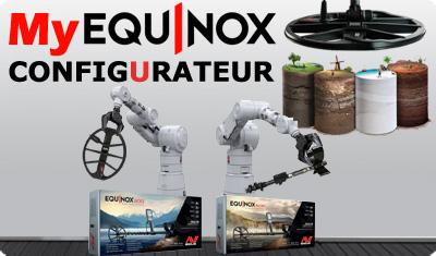 Configurateur Minelab Equinox