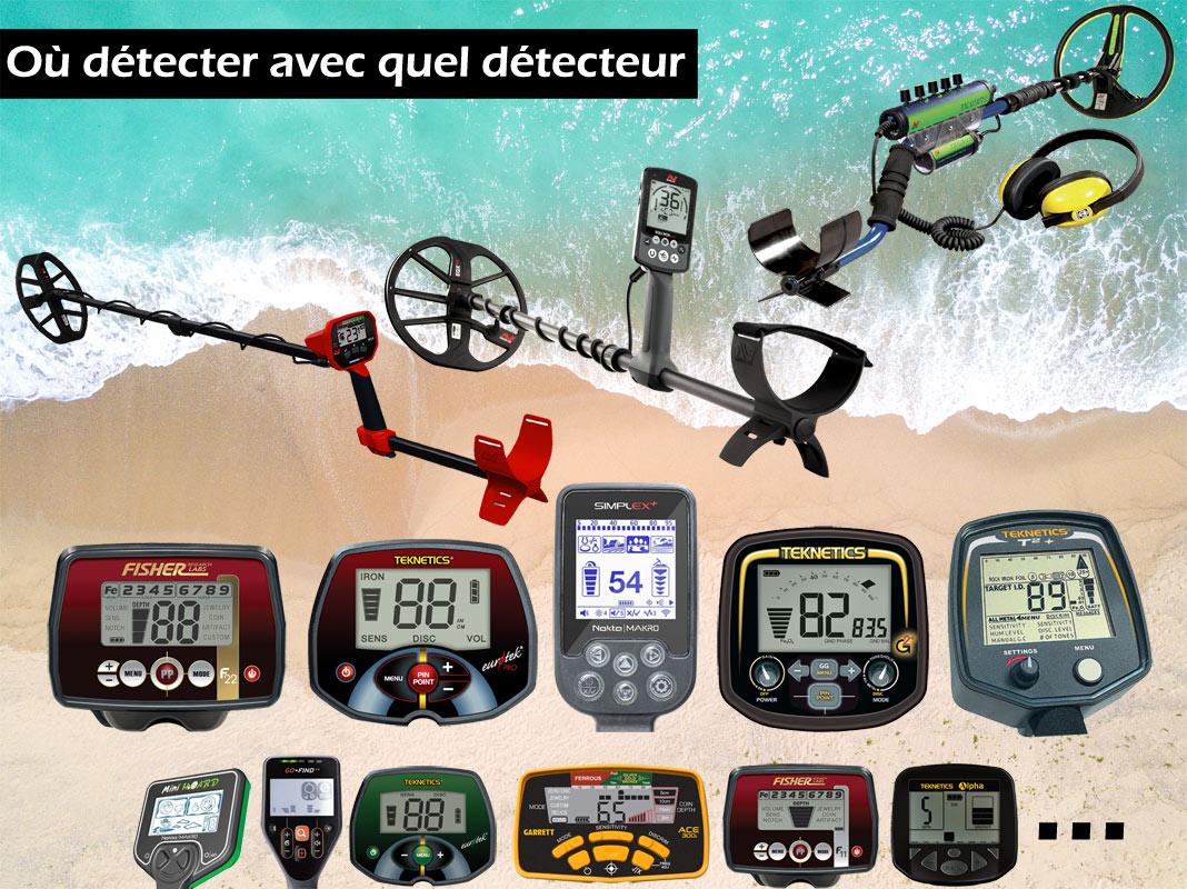 Les meilleurs détecteurs de metaux pour la plage