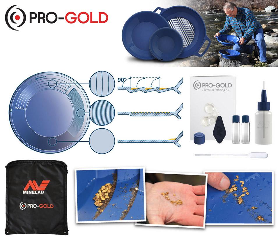 Kit d'orpaillage bleu Minelab PROGOLD