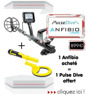 1 anfibio acheté, 1 Pulse Dive offert