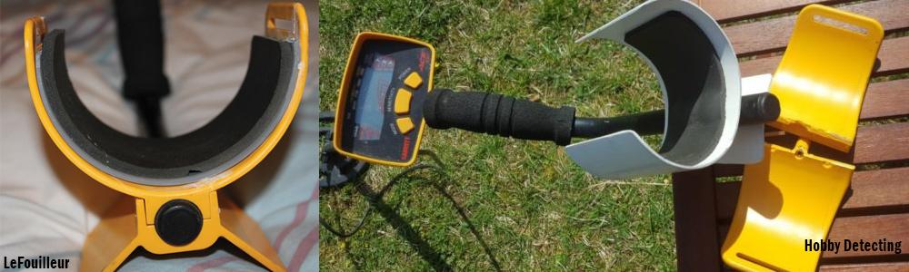 comment reparer un repose bras de detecteur de metaux